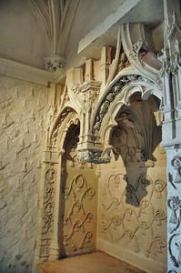 Loches - Logis royal - Oratoire d'Anne de Bretagne