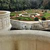 Château de Chenonceau - Balcon du vestibule - Vue sur le jardin de Catherine
