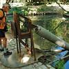 Parc du manoir du Clos-Lucé - La vis d'Archimède