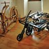 Manoir du Clos-Lucé - Salles des maquettes - Bicyclette et automobile