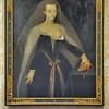 Loches - Logis royal - Salle Agnès Sorel - Portrait d'Agnès Sorel, favorite de Charles VII
