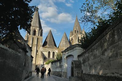 Loches - Cité royale - Collégiale Saint-Ours