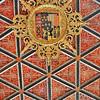 Château de Chenonceau - Chambre des Cinq Reines - Armoiries des Cinq Reines
