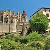 Saint-Antoine-l'Abbaye - Vue depuis le Faubourg
