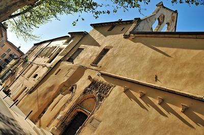 Vienne - Cloître de l'ancienne cathédrale Saint-Maurice