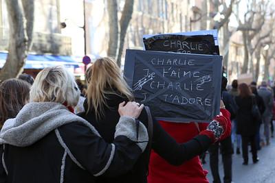 Je suis Charlie - Aix en provence