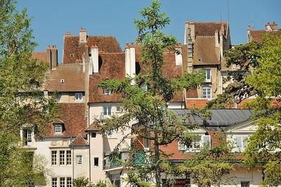 Dole - Au port, depuis le canal du Rhône au Rhin