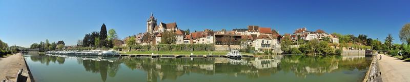 Dole - Panorama depuis l'avenue de Lahr