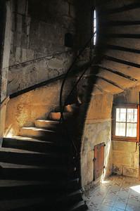 Dole - Rue de Besançon - Escalier à vis