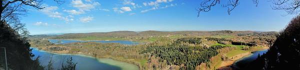 Belvédère des Quatre Lacs - Lacs d'Ilay, du Grand Maclu, de Narlay et du Petit Maclu
