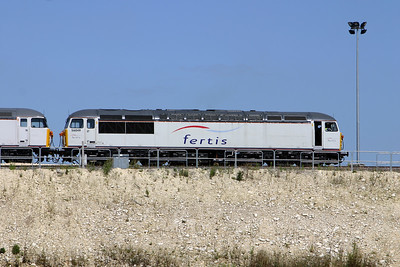 56 049 at Ocquerre Base on 3rd August 2005