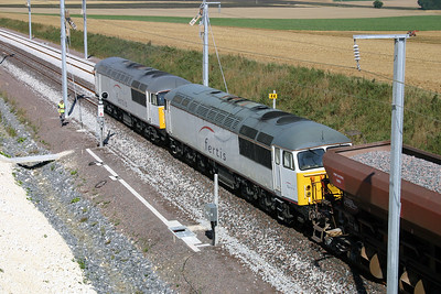 56 090 near 44KM post (D23 Road) on 3rd August 2005