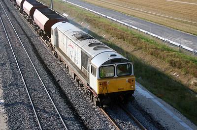 2) 58 035 near Bouy (D21 road bridge) on 4th August 2005