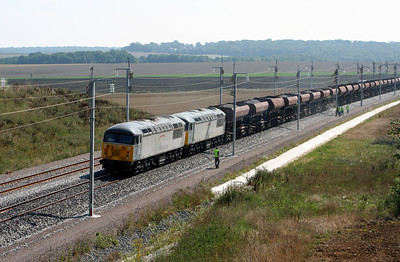 56 106 & 56 090 near 44KM post (D23 Road) on 3rd August 2005.