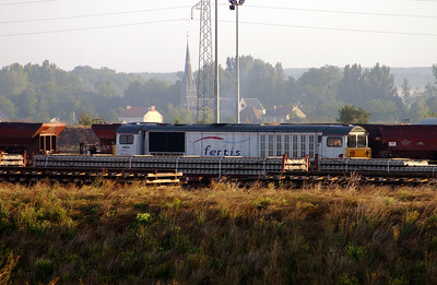 58 035 at St Hilaire au Temple on 4th August 2005