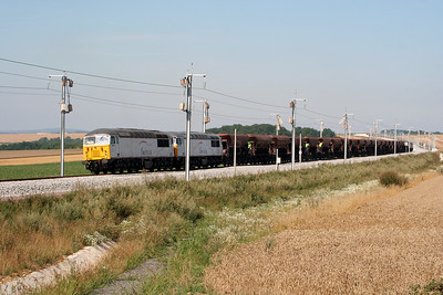 2) 56 049 & 56 032 near 44KM post (D23 Road) on 3rd August 2005