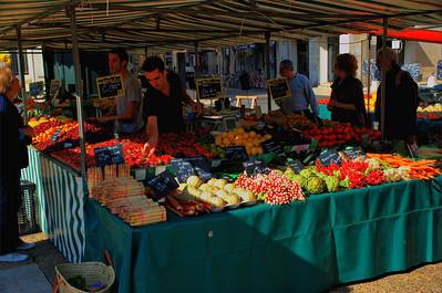 The Market in La Rochelle