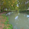 Canal du Midi in the Herault region of France