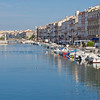 Sete in the Herault region of France