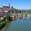 Albi in the Tarn region of France