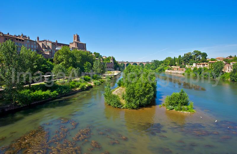 Albi in the Tarn region of France