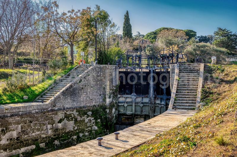 Fonseranes, UNESCO World Heritage Site, Beziers