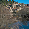 The village of Olargues, South of France