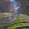 Picturesque view of the Canal du Midi