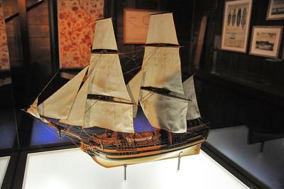 Nantes (Naoned) - Musée d'histoire - Navire négrier Marie-Séraphique