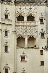 Nantes (Naoned) - Château des Ducs de Bretagne - Loggia de la tour de la Couronne d'Or