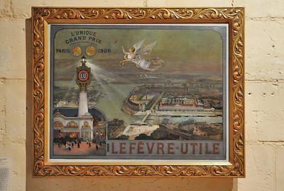 Nantes (Naoned) - Musée d'histoire - Image de l'usine LU
