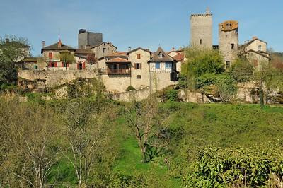 Cardaillac - Vue de la partie médiévale