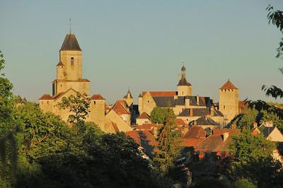 Martel - Eglise Saint-Maur, Tours Fabri, de la Raymondie et Tournemire