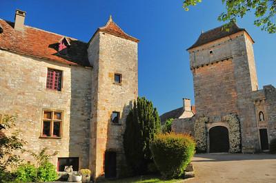 Loubressac - Rue du Château