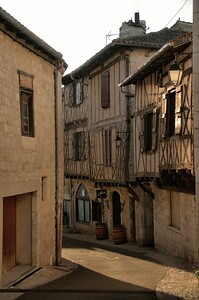 Montcuq - Rue de la mairie