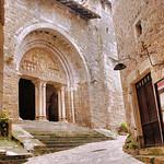 Carennac - Eglise Saint-Pierre - Portail roman