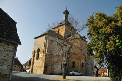 Eglise fortifiée de Saint-Michel-de-Bannières