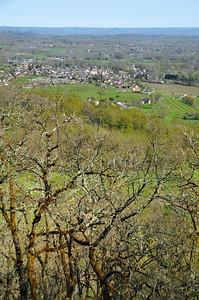 Puy d'Issolud - Vue vers l'est et Vayrac