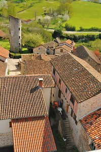 Cardaillac, du haut de la tour de Sagnes - Tour Ronde