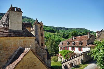 Autoire - Château de Limargue et manoir de Colomb