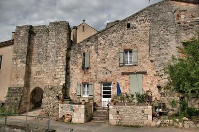 Penne-d'Agenais - Rue des Fossés - Porte Ricard