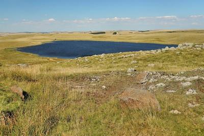 Plateau de l'Aubrac - Lac de Saint-Andéol