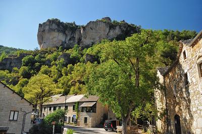 Gorges de la Jonte - Les Douzes et le roc Saint-Gervais
