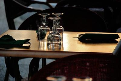 Marvejols - Place Henri Cordesse - En attendant le repas