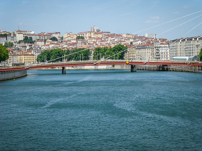 View of Lyon from the Saeone River