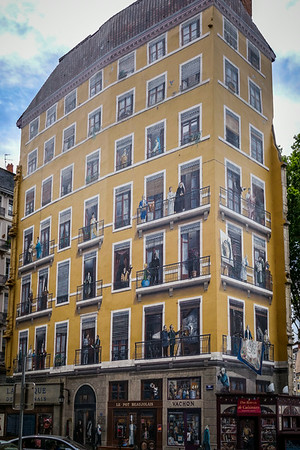 Painted walls of Lyon