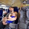 Two tired boys on the Geneva-Lyon train