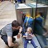Picnicking at the Geneva train station