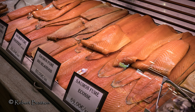Salmon at the Market