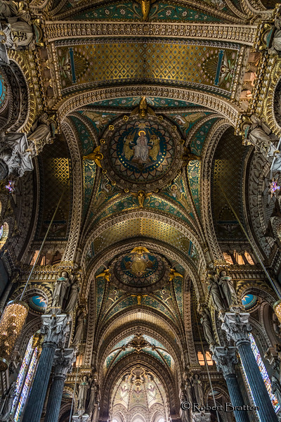 Notre Dame Basilica<br /> Lyon, France